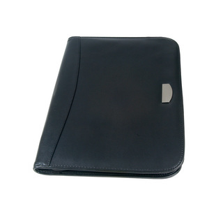 Promotional Product Exec Koeskin Zip Round Portfolio & Calculator
