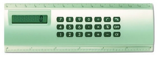 Promotional Product Calculator / Ruler Combo
