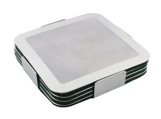 Promotional Product Prestige Stainless Steel Coaster set