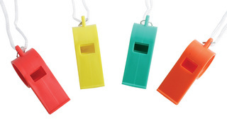 Promotional Product Fluro Whistle