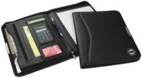 Promotional Product Oxford Calculator Zip Portfolio