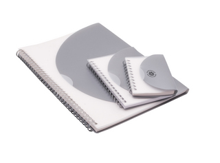 Promotional Product Curve Notepad - Large