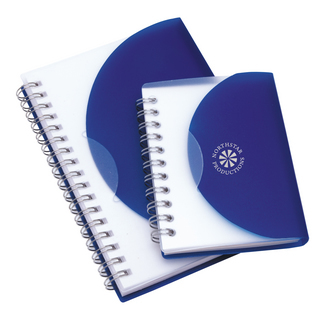 Promotional Product Curve Notepad - Regular