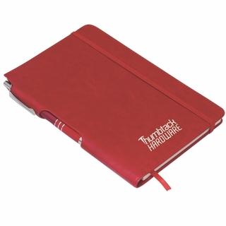 Folder meridian jotter mini compendium with calculator mini notebook