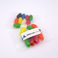 Promotional Product 25gm Jelly Beans in Cello Bag