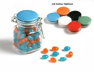 Promotional Product Jelly Beans in Clip Lock Jar 80g