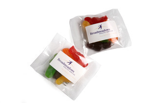 Promotional Product 20gm Jelly Babies in cello bag