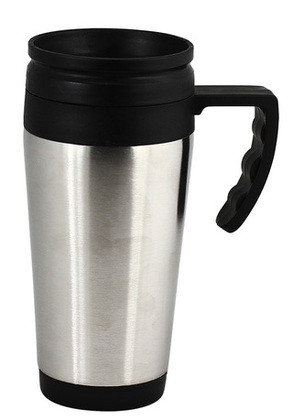Promotional Product STAINLESS STEEL AND PLASTIC DOUBLE WALL MUG