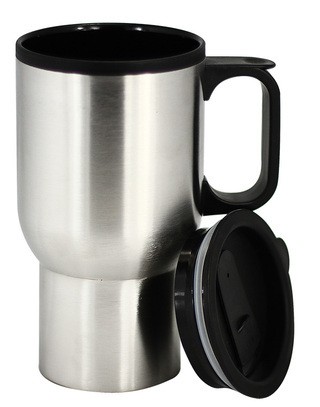 Promotional Product STAINLESS STEEL AND PLASTIC DOUBLE WALL MUG 420ml