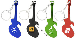 Promotional Product Guitar Key Chain