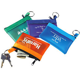 Promotional Product Frosty Colours Key Pouch