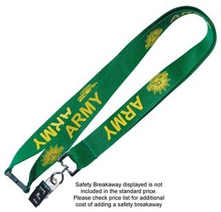 Promotional Product 25mm Polyester Lanyard