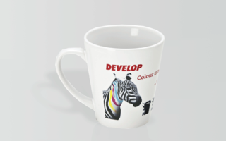 Promotional Product Full Colour Printed Latte Mug