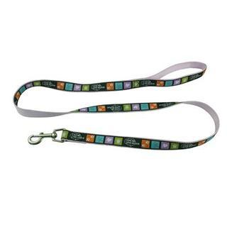 Promotional Product Detailed Woven Dog Leash Sewn onto Polyester
