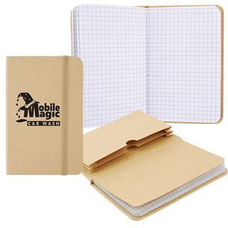 Promotional Product Explorer Notebook with Expanding File