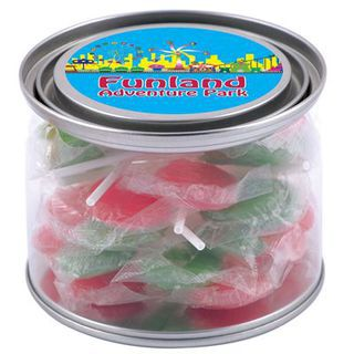 Promotional Product Corporate Colour Lollipops in 500ml Drum