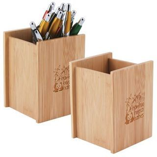 Promotional Product Bamboo Desk Caddy