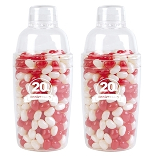Promotional Product Corporate Colour Jelly Beans in Cocktail Shaker