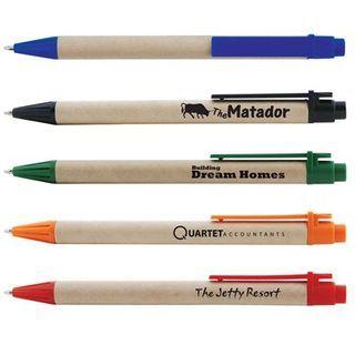 Promotional Product Matador Cardboard Ballpoint Pen