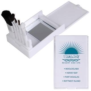 Promotional Product Compact Makeup Brush Set