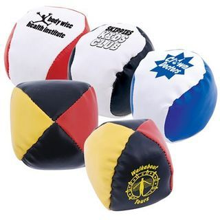 Promotional Product PVC Hackey Sacks / Juggling Balls