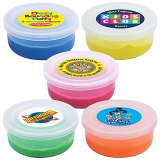 Promotional Product Crazy Assorted Colour Bouncing Putty