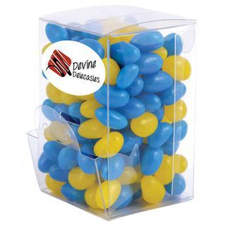 Promotional Product Corporate Colour Mini Jelly Beans in Mini Confectionery Dispenser