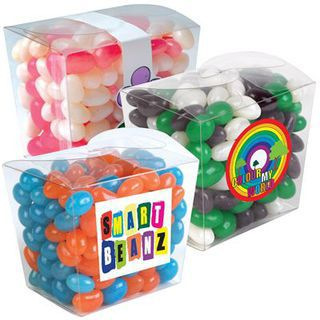 Promotional Product 200gm Corporate Colour Jelly Beans in Noodle Box