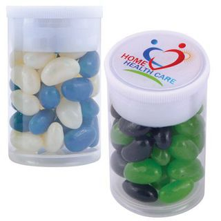 Promotional Product Corporate Colour Mini Jelly Beans In Dinky Tube