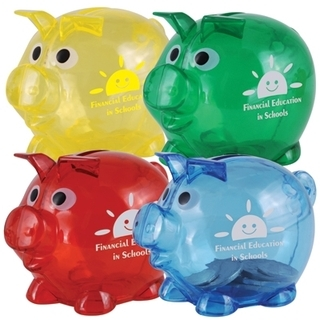 Promotional Product World's Smallest Pig Coin Bank