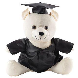 Promotional Product Graduation Signature Calico Bear