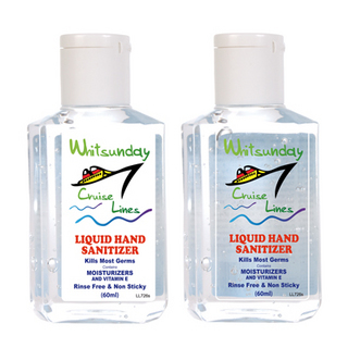 Promotional Product 60ml Gel Hand Sanitiser