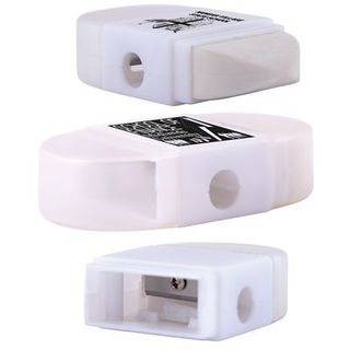 Promotional Product 2 in 1 Pencil Sharpener / Eraser