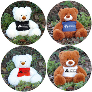 Promotional Product COCO (BROWN) & COCONUT (WHITE) TEDDY BEAR