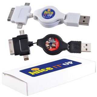 Promotional Product Zippy 3 Way Cable