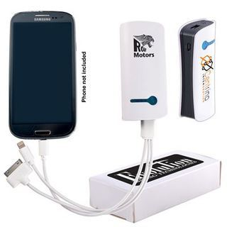 Promotional Product Curve Tablet Power Bank