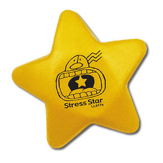 Promotional Product Anti Stress Yellow Star