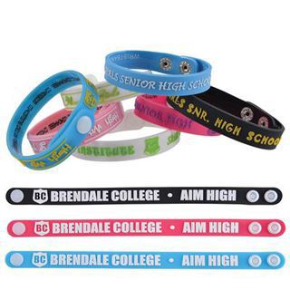 Promotional Product ADJUSTABLE 12mm SILICONE WRIST BAND