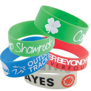 Promotional Product 25mmWide Silicone Wrist Band
