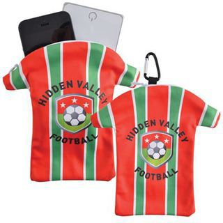 Promotional Product  Custom Superior Hi Microfibre T/Shirt Phone Pouch