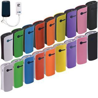 Promotional Product Custom Colour Curve Tablet Power Bank (INDENT)