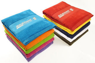 Promotional Product Terry Velour Towel