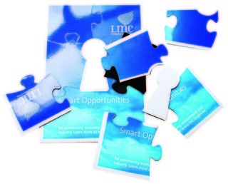 Promotional Product Large Magnetic Jigsaw