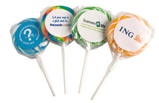 Promotional Product Medium Candy Lollipops