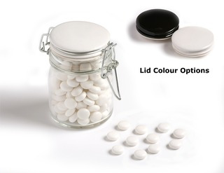 Promotional Product Mints in Medium Clip Lock Jar 160g