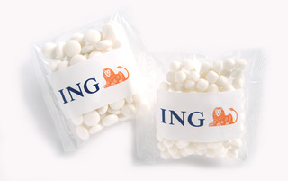 Promotional Product 50gm Mints in cello bags