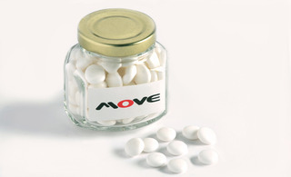 Promotional Product Mints in Squexagonal 90g Jar