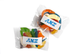 Promotional Product 100gm Mixed Lollies in cello bag
