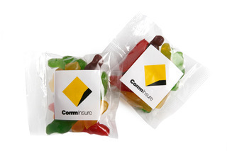 Promotional Product 50gm Mixed Lollies in cello bag