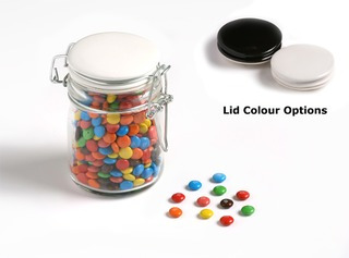 Promotional Product Mini M&Ms in Medium Clip Lock Jar 160g